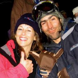 Lauren Traub Teton and Max Henault